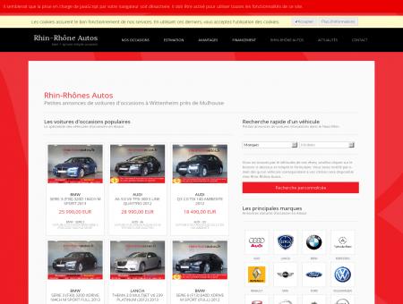 Rhin-Rhônes Autos - Annonces voitures...