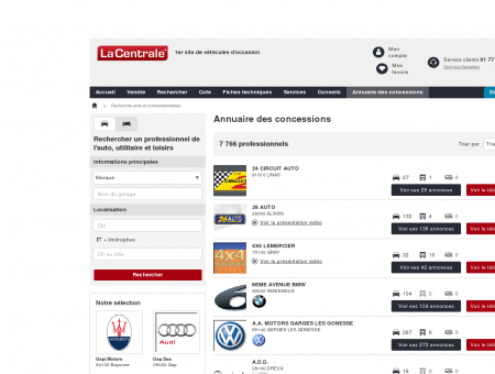 VIR AUTO : Voiture occasion VIROFLAY - Vente...