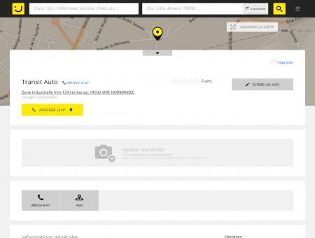 Transit Auto Vire (adresse, horaires) -...