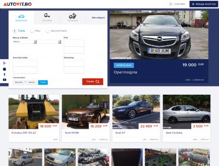 AUTOVIT - Anunturi auto, vanzari autoturisme noi si second ...