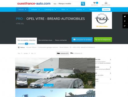 OPEL VITRE - BREARD AUTOMOBILES Vitre...