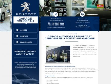Garage automobile PEUGEOT et carrosserie à...