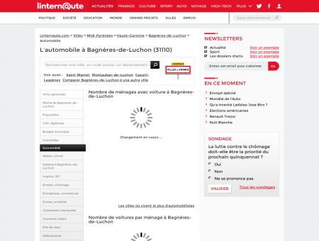 Automobile à Bagneres de Luchon (code...
