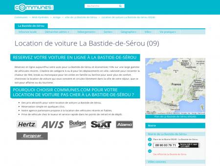 Location de voiture à La Bastide-de-Sérou,...