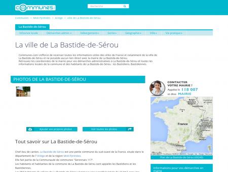 Mairie La Bastide-de-Sérou, informations sur...