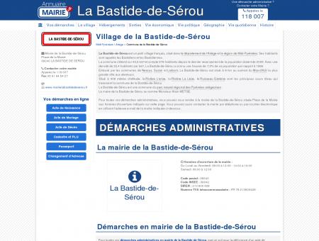 Mairie de la Bastide-de-Sérou, la Commune...