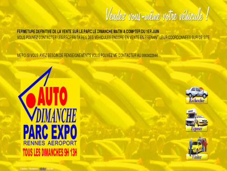 AUTO DIMANCHE - PARC EXPO RENNES :...