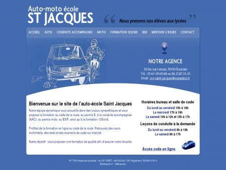 Accueil - Auto moto école Saint Jacques -...