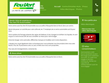 Centres auto entretien rapide - Feu Vert FD...