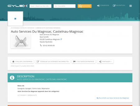 Auto Services Du Magnoac, Castelnau...