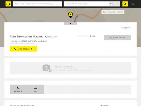 Auto Services du Magnoc Castelnau Magnoac...