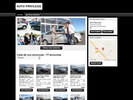 AUTO PRIVILEGE : vente véhicules occasion,...