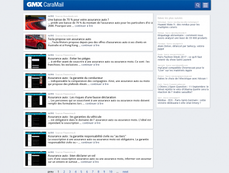 Assurance Auto 2016 | Gmx.fr