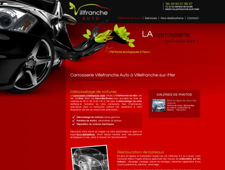 Carrosserie Villefranche Auto : débosselage de...