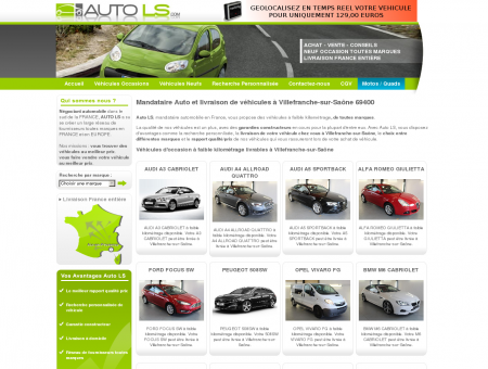 Mandataire auto à Villefranche-sur-Saône...