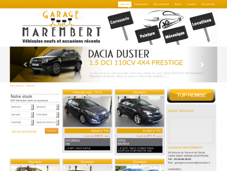 GARAGE MAREMBERT - SAINT-AMAND...