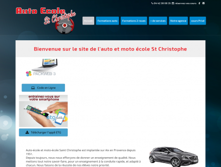 Accueil - Auto-école Saint Christophe - Aix en...
