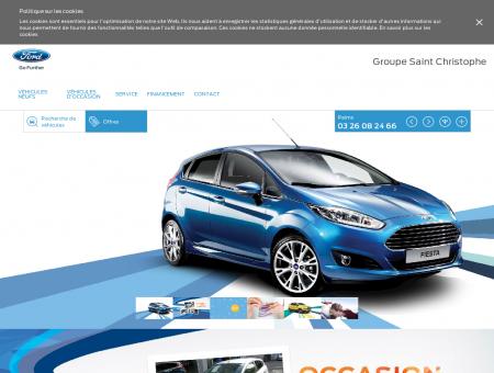 Ford Groupe Saint Christophe Reims achat et...