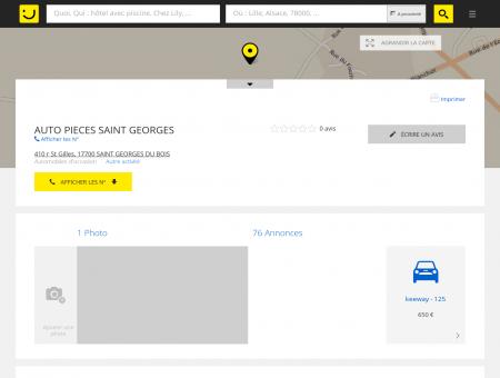AUTO PIECES SAINT GEORGES Saint Georges...