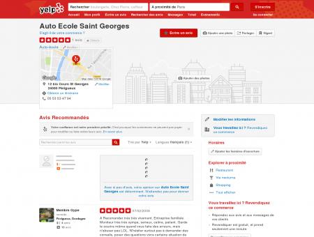 Auto Ecole Saint Georges - Auto-école -...
