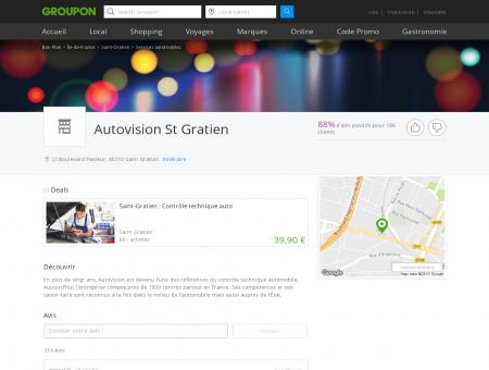 Autovision St Gratien - Saint Gratien   Services ...