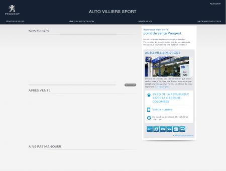AUTO VILLIERS SPORT, Votre point de vente...