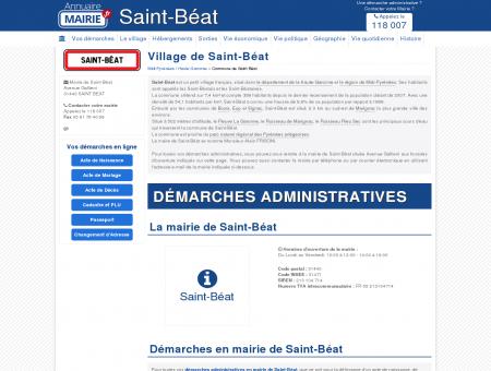 Mairie de Saint-Béat, la Commune de Saint...