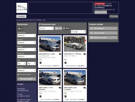 RL AUTO CONTINENTAL AUTOMOBILE - 47300...
