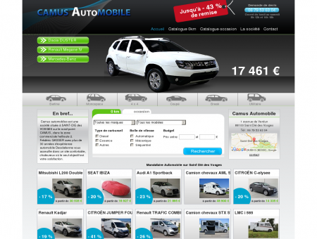 Camus Automobile - Vente voitures neuves et...