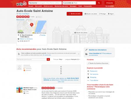 Auto Ecole Saint Antoine - Auto-école -...