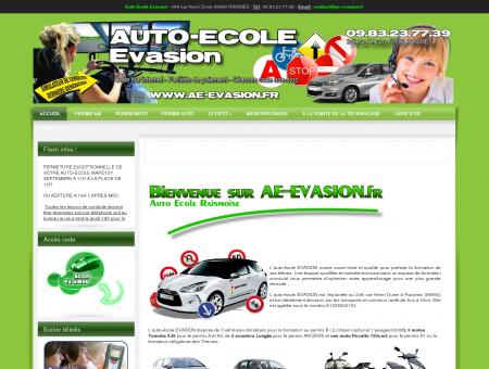 AUTO ECOLE EVASION RAISMES - ACCUEIL