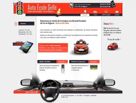 de Vic en Bigorre : Auto-école Gellé