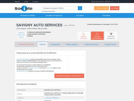 SAVIGNY AUTO SERVICES (SAVIGNY SUR...
