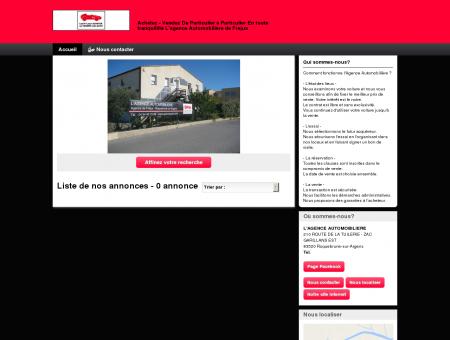 L'AGENCE AUTOMOBILIERE : vente véhicules...