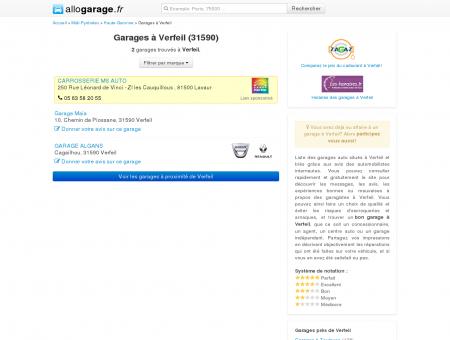 Garage Verfeil (31590) - Comparatif des...