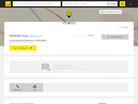 Norisko Auto Verfeil (adresse, horaires) -...