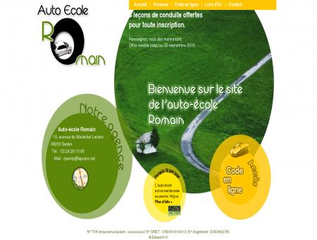 Auto école Romain - Auto-école à Sedan...