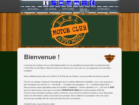 Bienvenue sur Auto Moto Ecole MotorClub