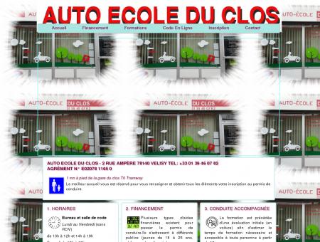 Auto Ecole du Clos à VELIZY - VILLACOUBLAY