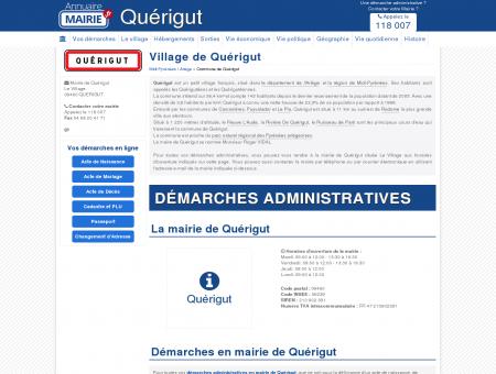 Mairie de Quérigut, la Commune de Quérigut...
