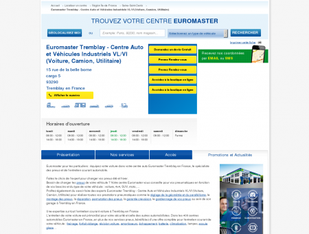 Centre auto EUROMASTER TREMBLAY - centre...