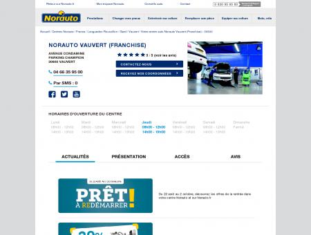 Norauto Vauvert (Franchise) - Garage...