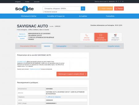 SAVIGNAC AUTO (VILLEFRANCHE DE...