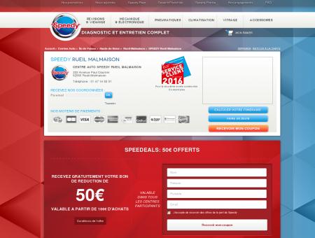 Centre auto et entretien voiture Speedy Rueil...