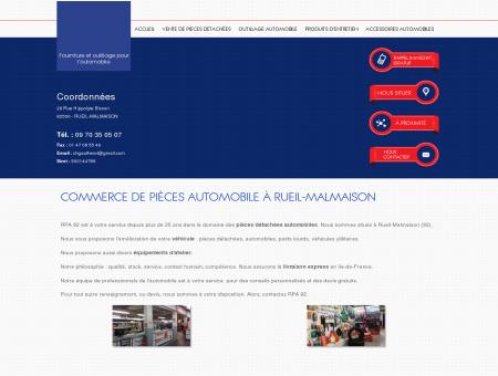 Commerce de pièces automobile à Rueil...