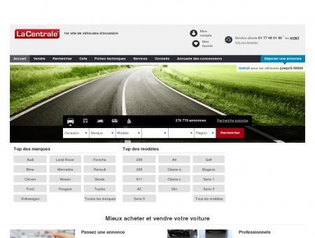 Autos d'occasion | lacentrale.fr