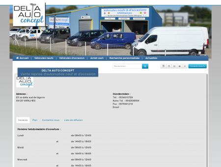 Contactez nous > DELTA AUTO CONCEPT >...