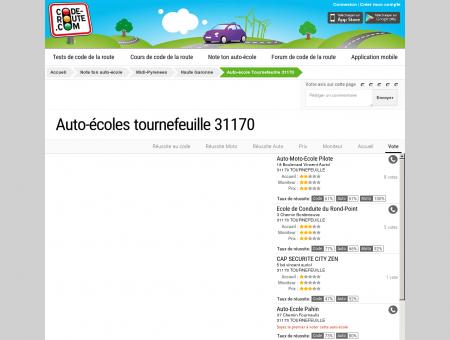 Auto-école TOURNEFEUILLE (31170) :: Avis et...