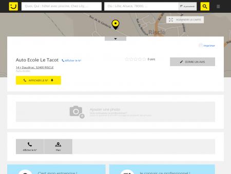 Auto Ecole Le Tacot Riscle (adresse) -...