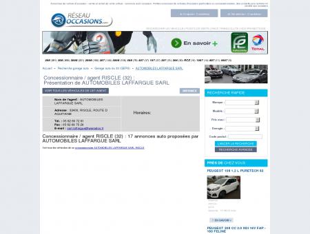 Garage/ concessionnaire RISCLE (32) -...